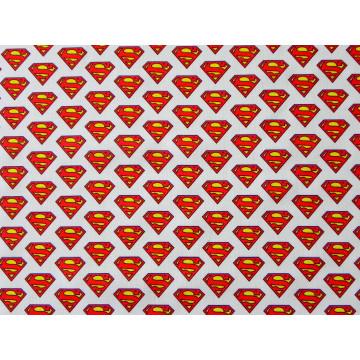 POPELIN SUPERMAN BLANCO
